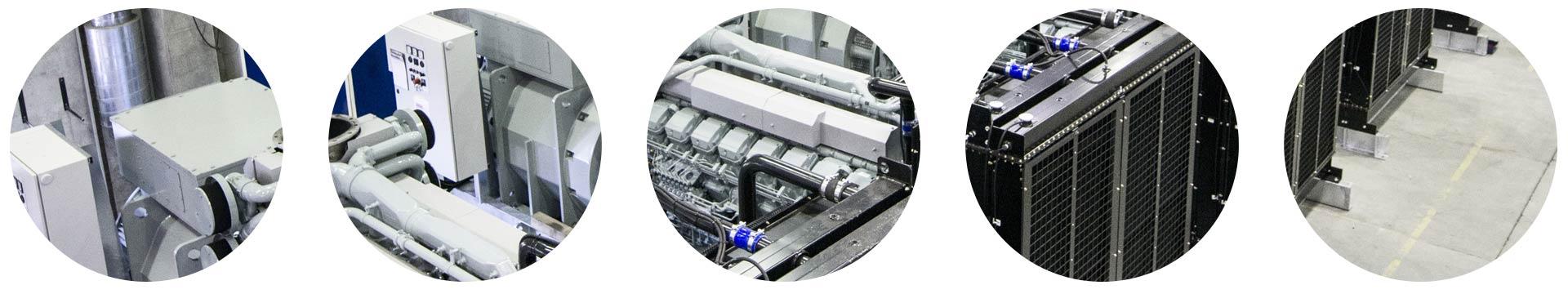 Coromatic har markedets beste utvalg av reservekraftsaggregater